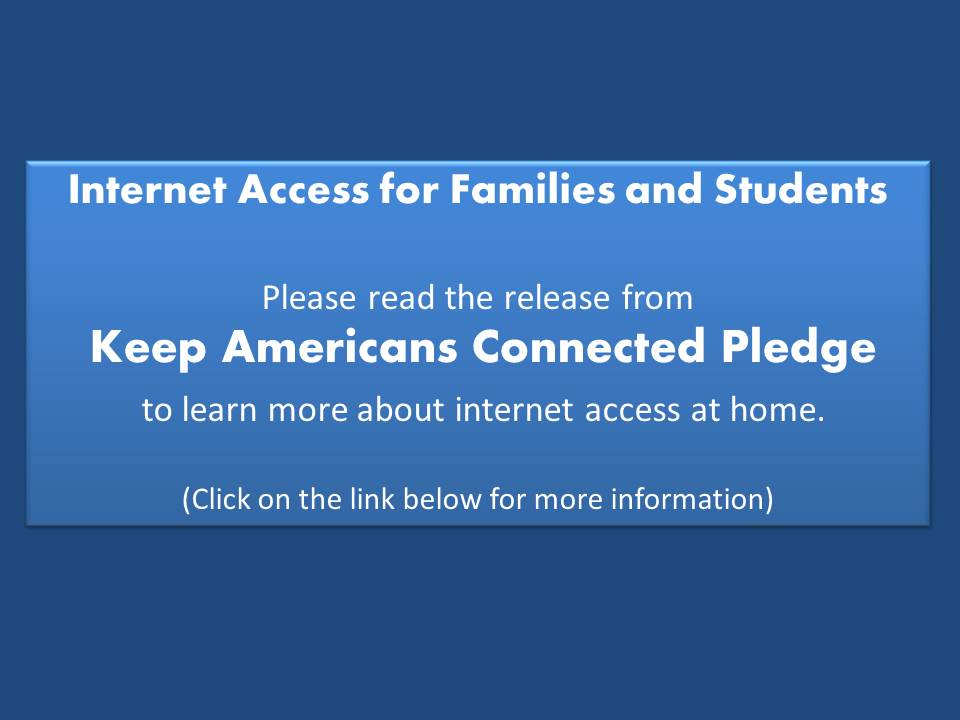 Free Internet for Families and Students